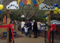 Ribbon Cutting Ceremony for Always Dreaming Playground