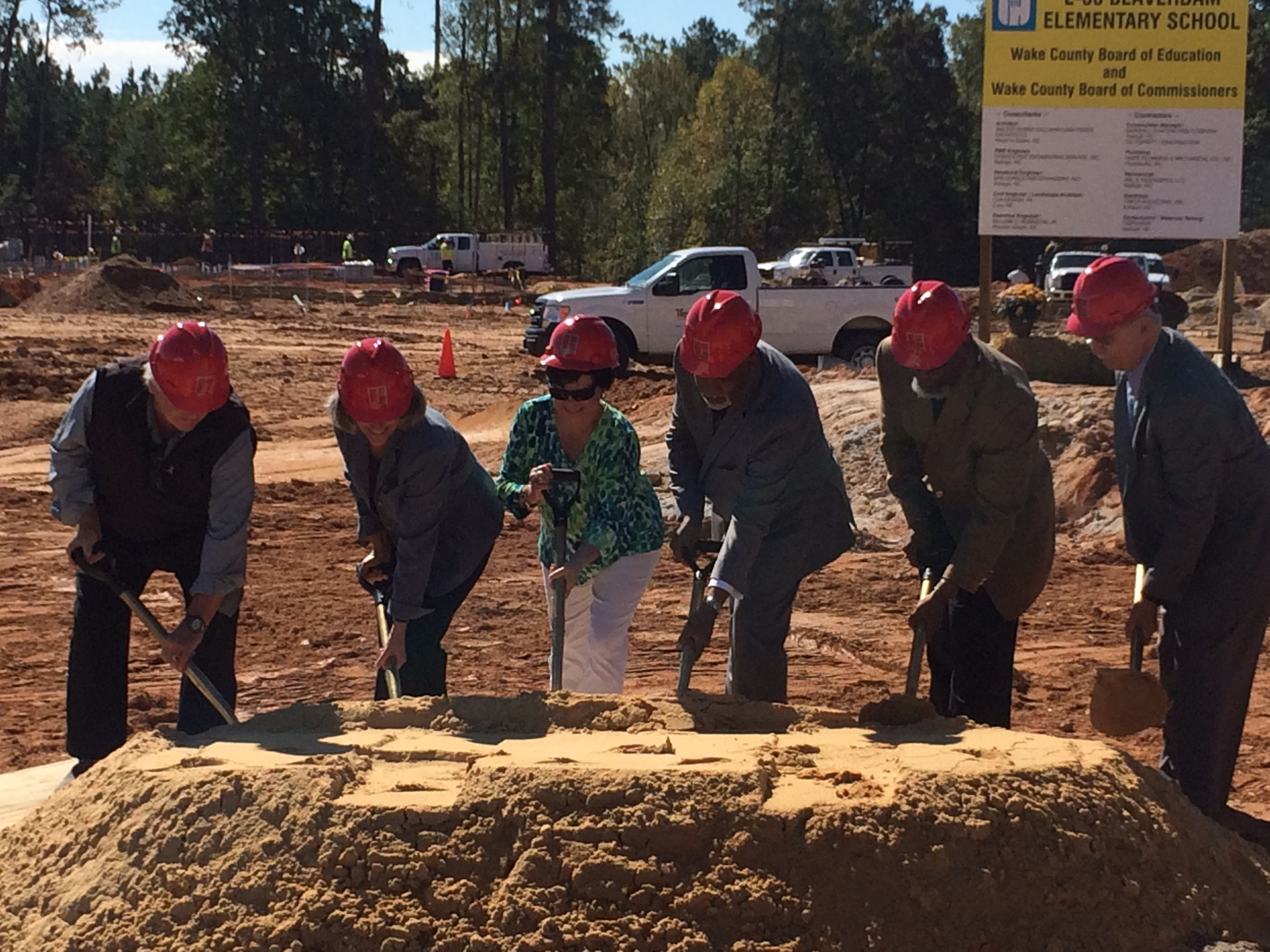 Beaverdam Elementary School Groundbreaking