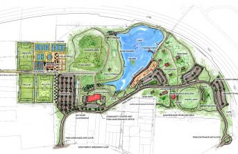 Hester Park Master Plan And Phase I Design Greensboro NC