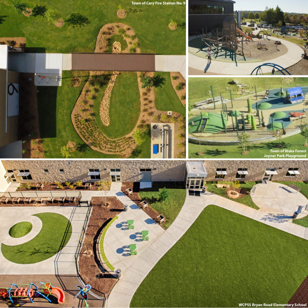 Site Design and Drone Photography
